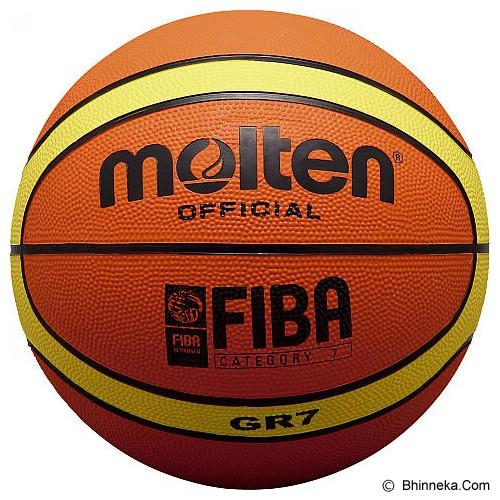 MOLTEN Bola Basket #7 Size 7 [BGR7] - Bola Basket